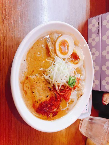 「辛さ2」@辛口炙り肉ソバ ひるドラ 鶴橋店の写真