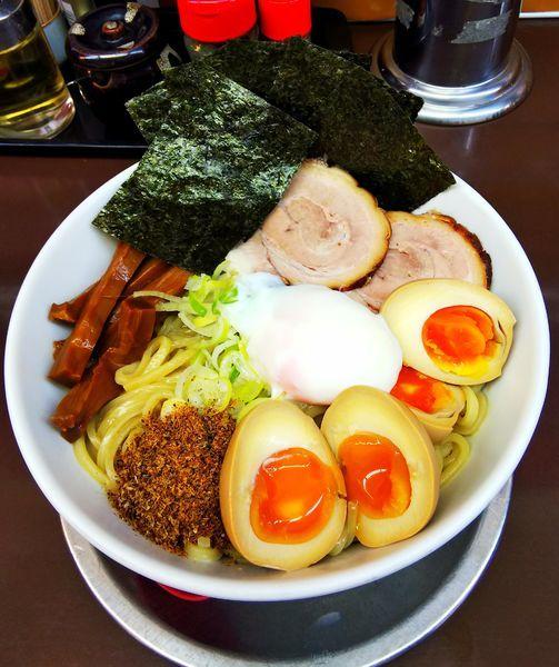 「特製油そば」@自家製太打麺 せい拉 行徳駅前店の写真