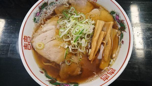 「津軽煮干しチャーシュー」@一藤の写真