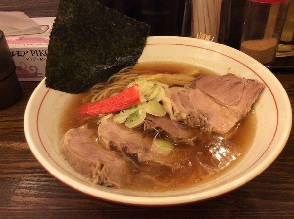 「魚介醤油チャーシュー中華そば¥880」@高木のぶぅの写真