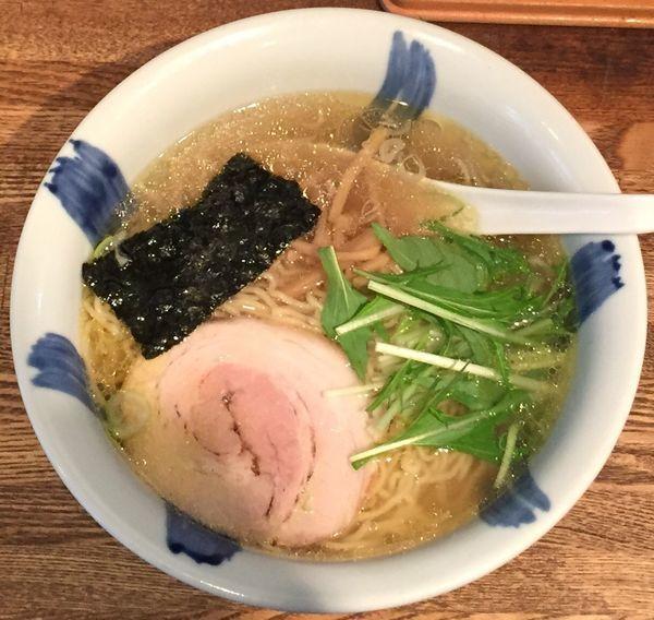 「塩ラーメン720円」@ラーメン食堂 粋な一生の写真