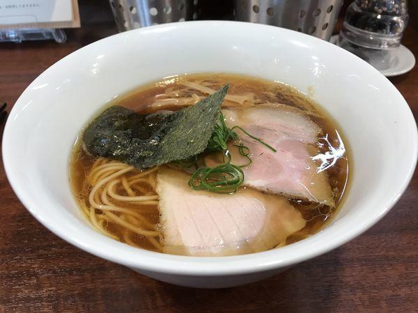 「醤油らぁ麺 780円 水餃子 350円」@柳麺 多むら 外旭川店の写真