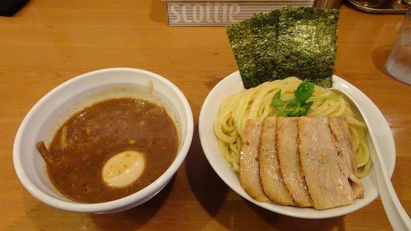 「特製つけめん大盛り:濃厚煮干し(1,000円)」@つけめん桜坂の写真