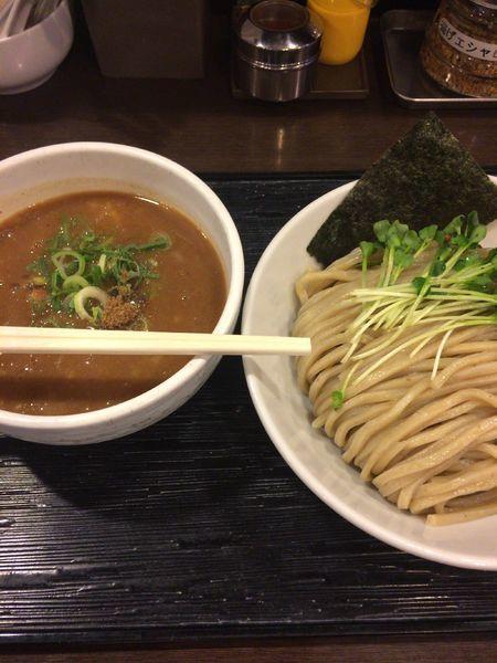 「豚骨魚介つけ麺」@麺屋 六弦の写真