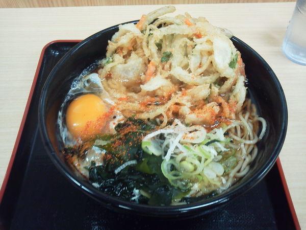 「天玉そば 470円」@名代 箱根そば 小田原店の写真
