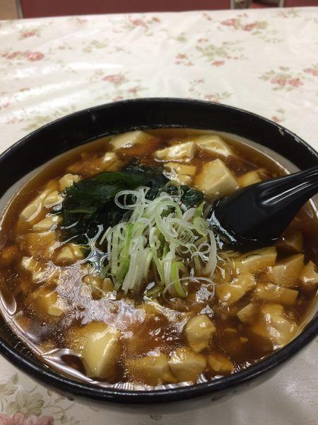 「トーフラーメン600円」@レストラン大手門の写真