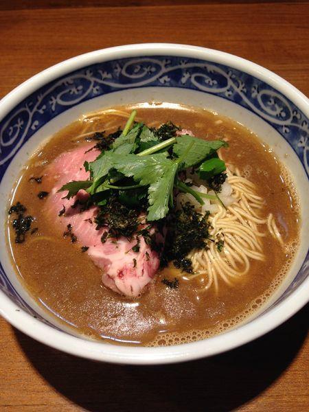 「【限定】かます煮干×大山鶏×鰤の濃厚そば」@寿製麺よしかわ 川越店の写真