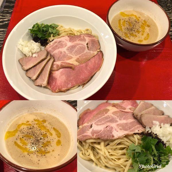 「フォアグラつけ麺 1,000円」@鴨だしらーめん 鴨福の写真