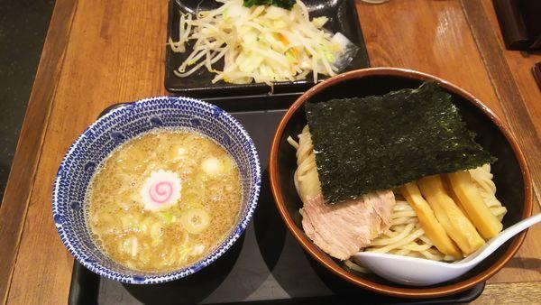「野菜つけめん(中)」@舎鈴 有楽町新東京ビル店の写真