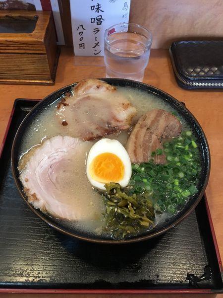 「桜島ラーメン」@ラーメン櫻島 月寒東店の写真