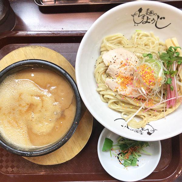 「鶏ドロつけ麺」@麺のようじの写真