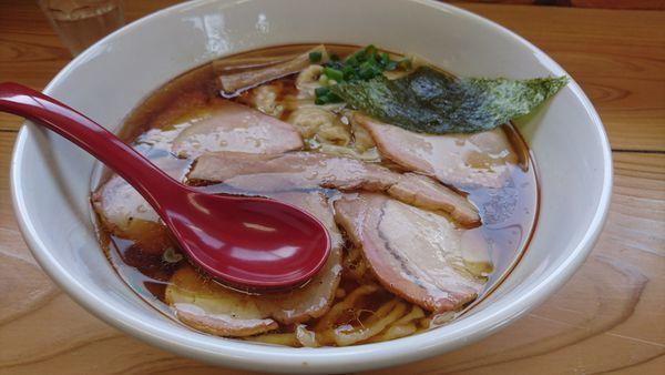 「チャーシューワンタン麺」@ドリームロード 道夢の写真