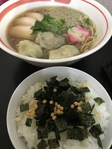 「限定  牡蠣醤油  お茶漬け」@自家製麺SHINの写真