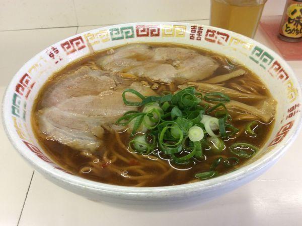 「とうがらし麺中」@中華そば 浦島の写真