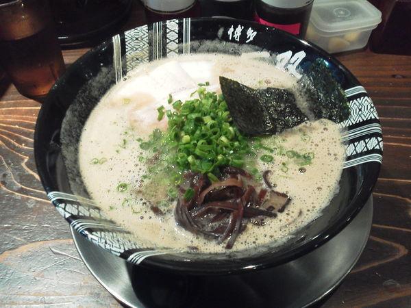 「ラーメン 650円」@博多一双 中洲店の写真
