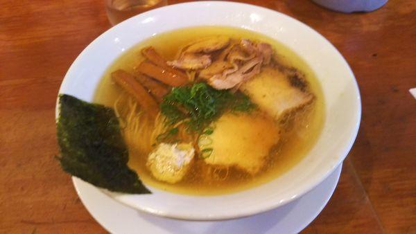 「塩ラーメン 700円」@自家製麺 えなみの写真