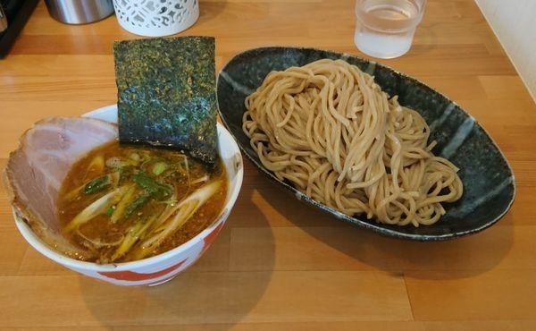 「木曜日 煮干しつけ麺」@らーめん マル汁屋の写真