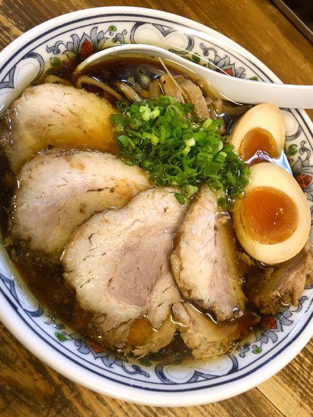 「【限定】豚鶏の肉出汁清湯肉増¥900+味玉¥100」@くじら食堂の写真