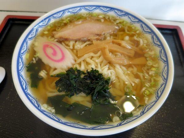 「ラーメン 550円」@手延ラーメン 麺太の写真