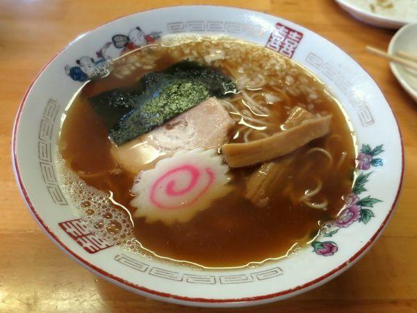 「にぼしラーメン 700円」@ひかり食堂の写真