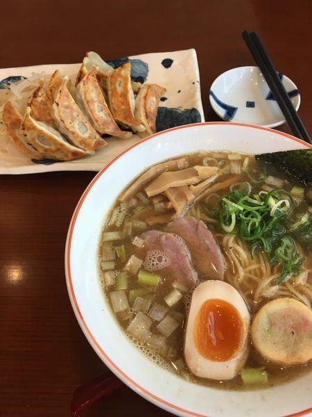 「限定煮干しラーメン」@拉麺しるしの写真