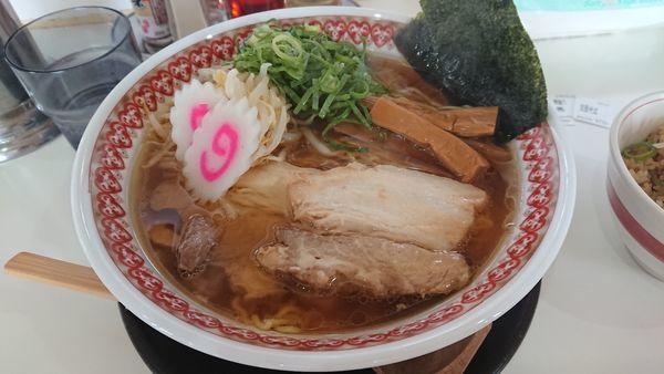 「支那そば  得盛り」@麺肴ひづき あさのやの写真