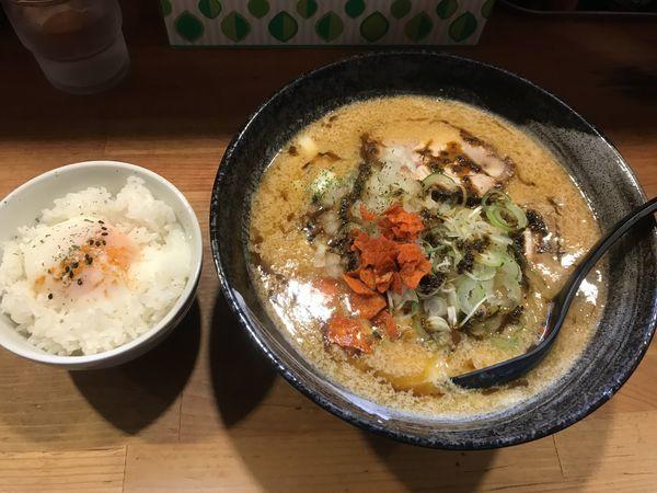 「みそカリーチーズ麺 950円」@獅子王の写真