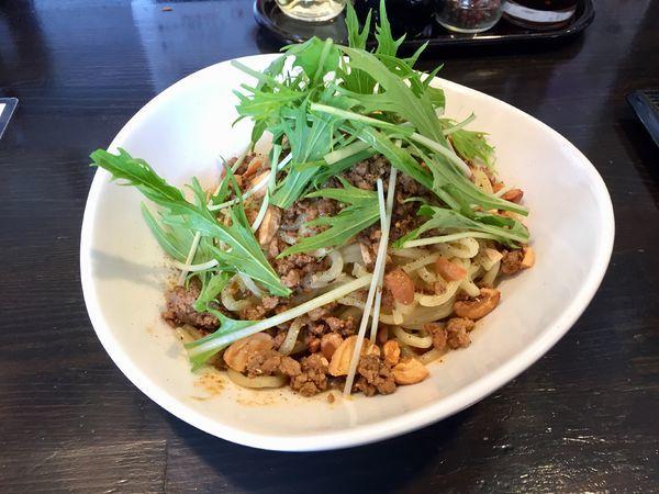 「汁なし担々麺」@中華蕎麦 こじまの写真
