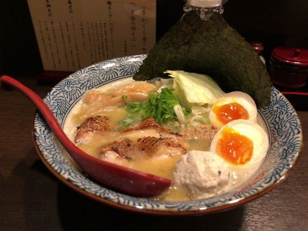 「特製濃熟そば 950円」@征麺家 かぐら屋の写真