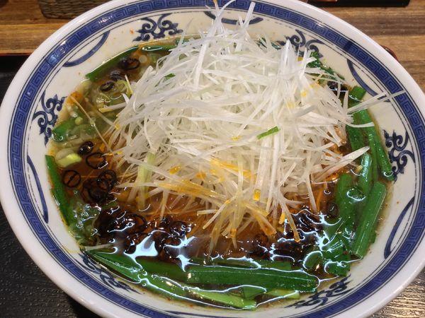 「ネギ台湾ラーメン 大盛 ¥930」@麺屋 かりん亭の写真