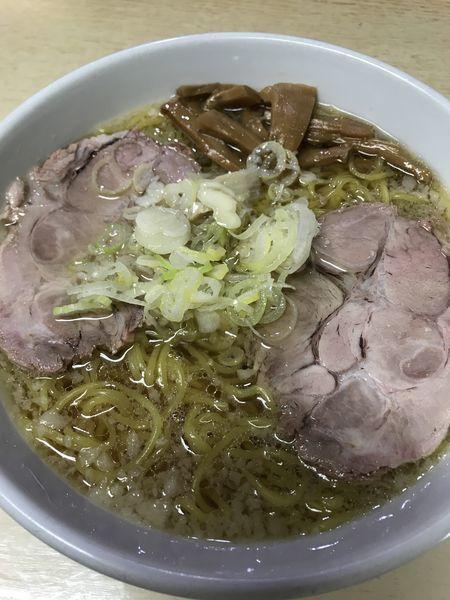 「正油ラーメン中間」@元祖一条流がんこ 西早稲田店の写真