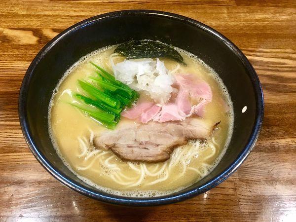 「鶏白湯」@らぁめん三代目OKAWARIの写真