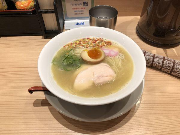 「京都鶏白湯 850円」@京紫灯花繚乱の写真