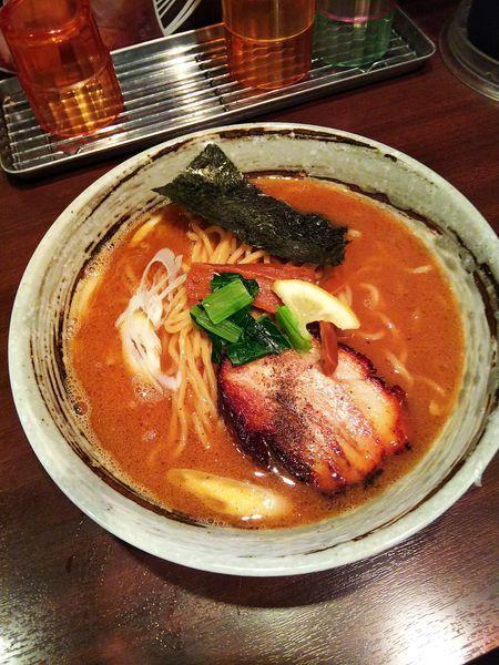 「大盛こってりラー麺」@麺屋 金獅子の写真