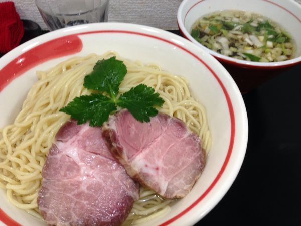 「[限定]アゴ細つけ麺」@自家製麺SHINの写真