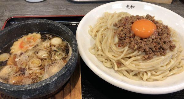 「嘉六つけ麺」@つけ麺丸和 名駅西店の写真