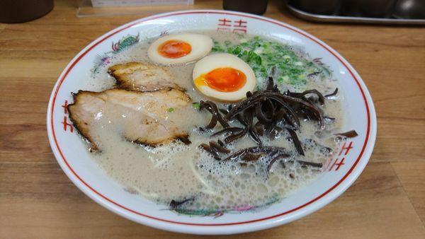 「煮卵らーめん」@魂龍の写真