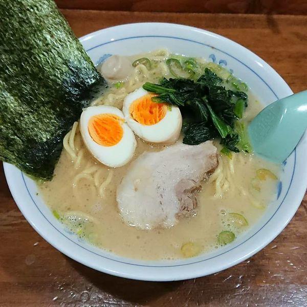 「ラーメン 醤油」@横浜家系ラーメン 精一杯の写真
