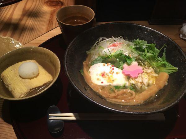 「真鯛の塩ラーメン、だし巻き卵」@紀州麺処 誉の写真