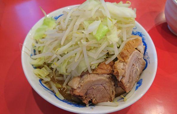 「ラーメン+1豚増し(800円)」@ドン-キタモトの写真