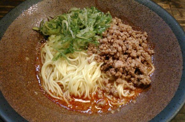 「広島汁なし担担麺 並」@tomoruの写真
