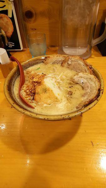 「九州麦味噌 味噌漬け炙りチャーシュー麺」@麺場田所商店 春日部店の写真