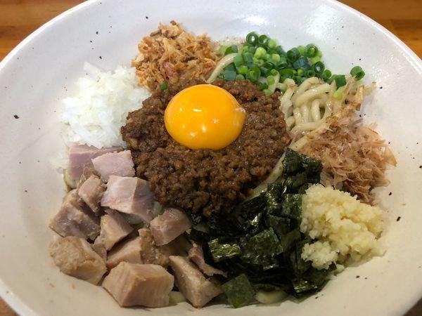 「【限定】肉味噌まぜそば800円」@麺屋 むじゃきの写真