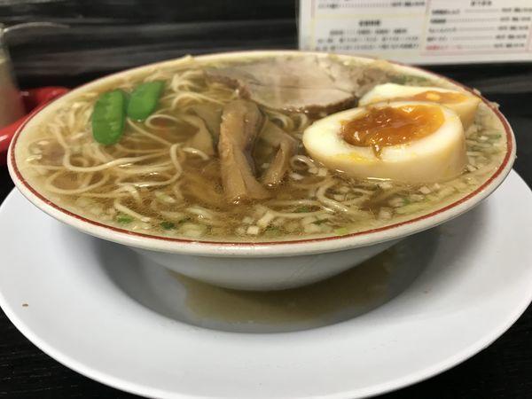 「中華そば 煮卵入り 723円」@中華そば みずさわ屋の写真