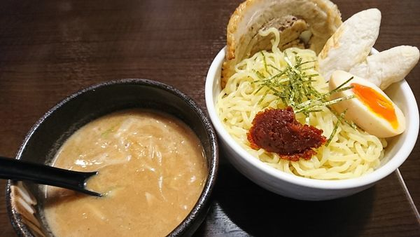 「仙台辛味噌つけ麺(970円)」@門左衛門 朝霞台店の写真