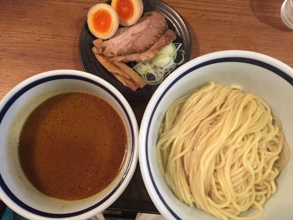 「味玉カレーつけめん(880円)」@中華そば 志の田の写真