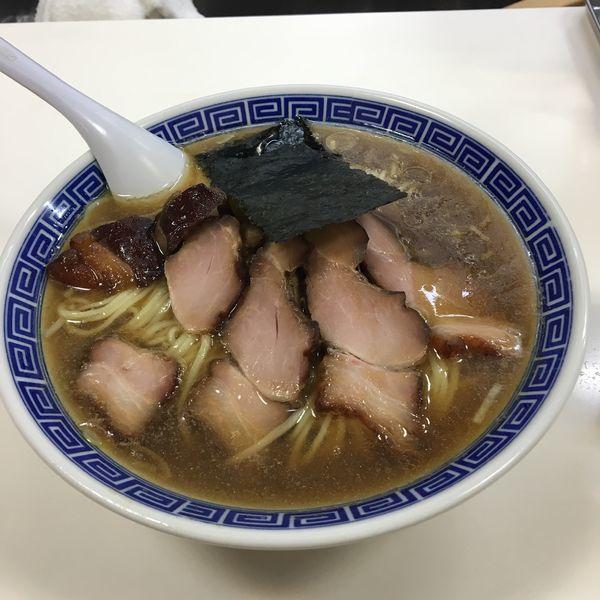 「チャーシュー麺+大盛」@支那そば いしはらの写真