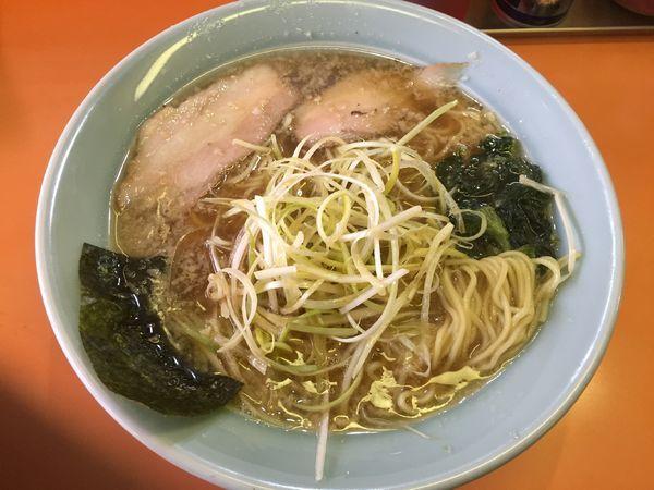 「ネギラーメン(並)¥650」@ラーメンショップ 椿 小川店の写真