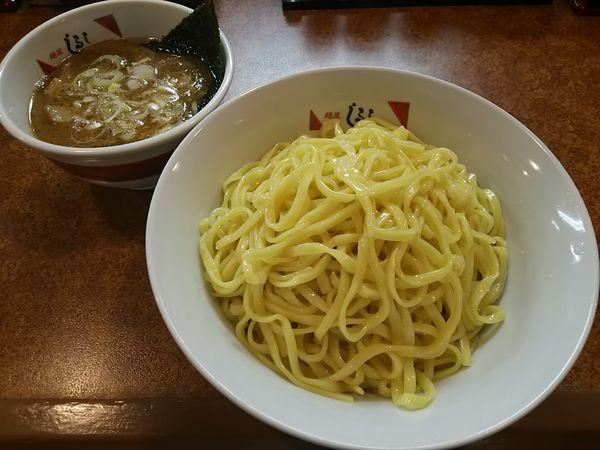 「塩つけ麺 ※柚子入り (大盛り)」@麵屋 しるしの写真