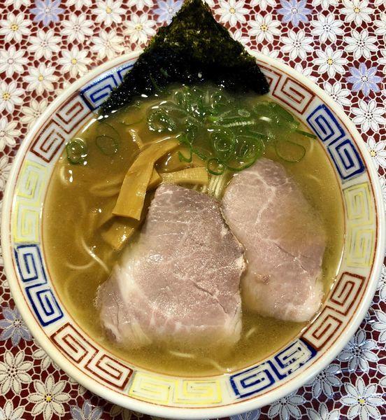 「白湯そば (680円)」@麺 虎右ヱ門の写真